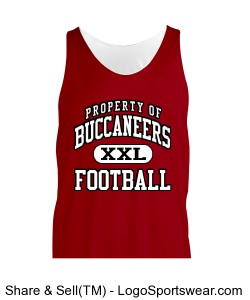 BUCS TANK TOP REVERSIBLE MESH Design Zoom