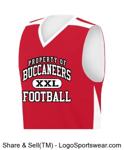 BUCS SLEEVELESS JERSEY Design Zoom